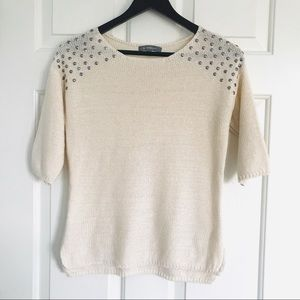 NY collection Small Knit sweater/top
